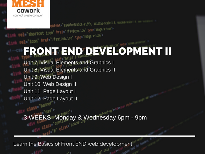Front End Development II