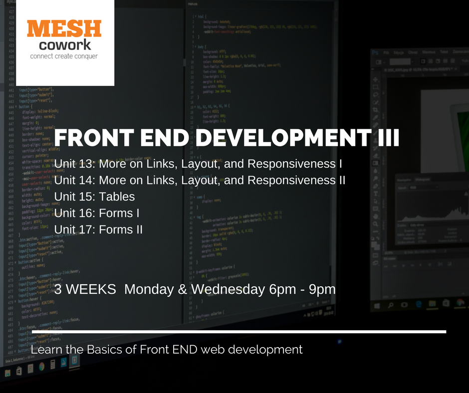 Front End Development III