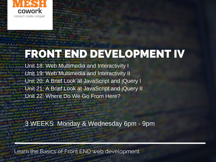 Front End Development IV