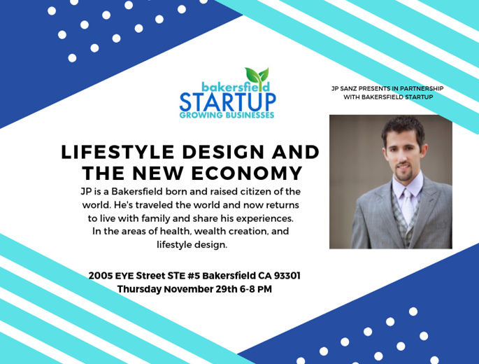 Lifestyle Design and the New Economy